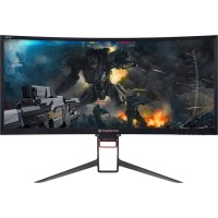 Monitor LED Acer Gaming Z35PBMIPHZ Curbat 35 inch 4 ms Black G-Sync 100Hz