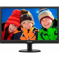 Monitor LED 18.5 Philips 193V5LSB210 WXGA 5ms Black 193v5lsb2/10