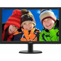 Monitor LED 23.8 Philips 240V5QDSB/00 Full HD IPS Negru