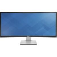 Monitor LED DELL UltraSharp U3415 Curbat 34 inch 5ms silver-black